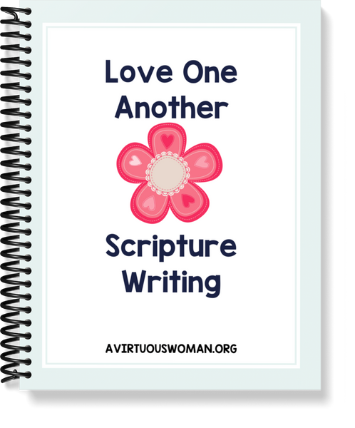 Love One Another Scripture Writing Notebook | PDF | 13 pages