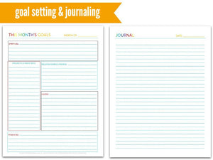 picture about Week at a Glance Planner identify The Martha Planner 7 days-at-a-Appear Everyday living Planner 190
