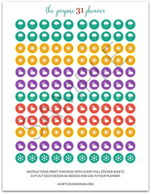 photograph about Printable Sticker Sheets titled Printable