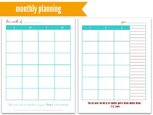 The Martha Planner | Week-at-a-Glance | Life Planner | 190 pages