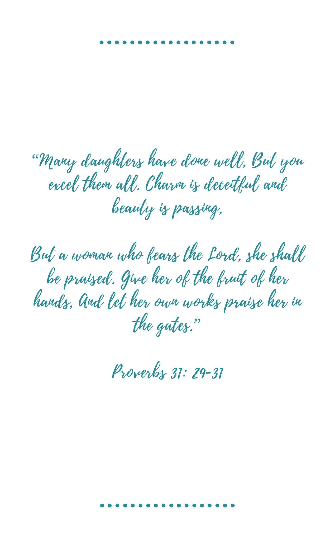 10 Virtues of the Proverbs 31 Woman by Melissa Ringstaff