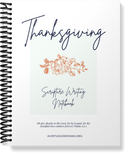 Thanksgiving Scripture Writing Notebook | 38 Pages