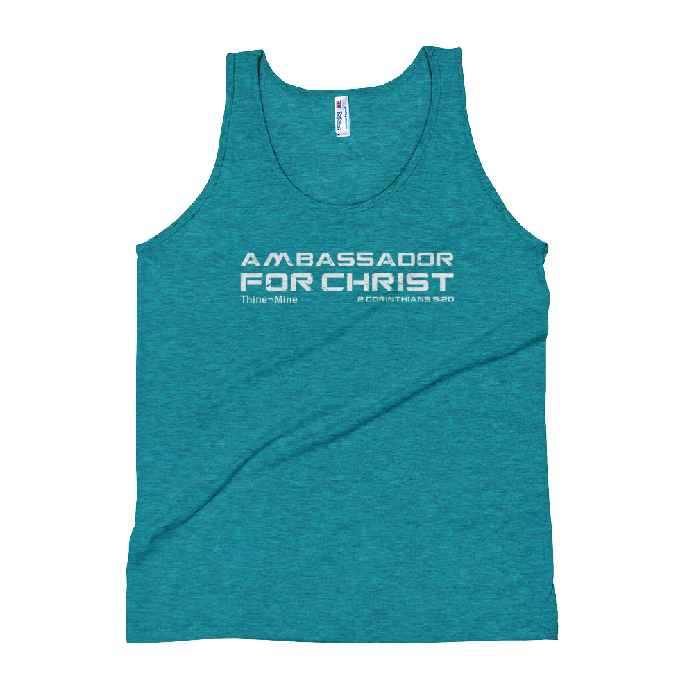 """Ambassador for Christ"" American Apparel Unisex Tank Top"