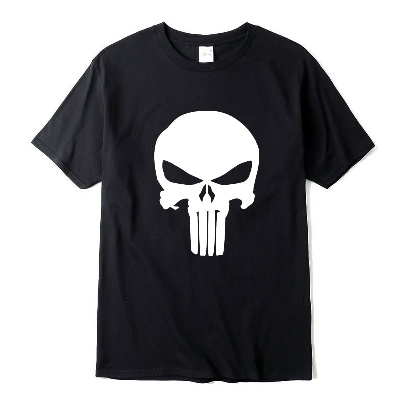 Punisher Printed T-Shirt For Men