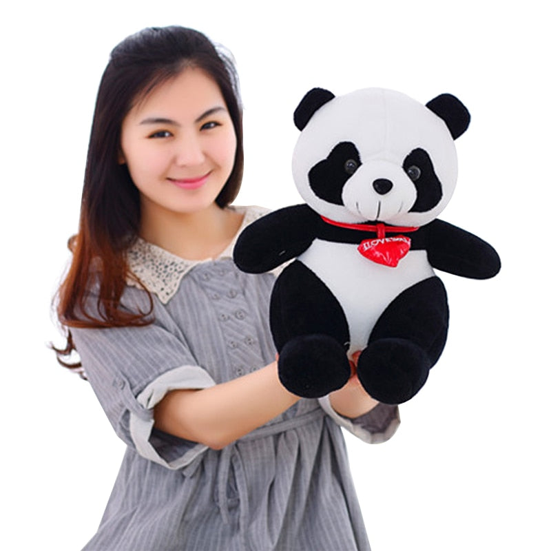 Stuffed 30cm Panda Soft Toy