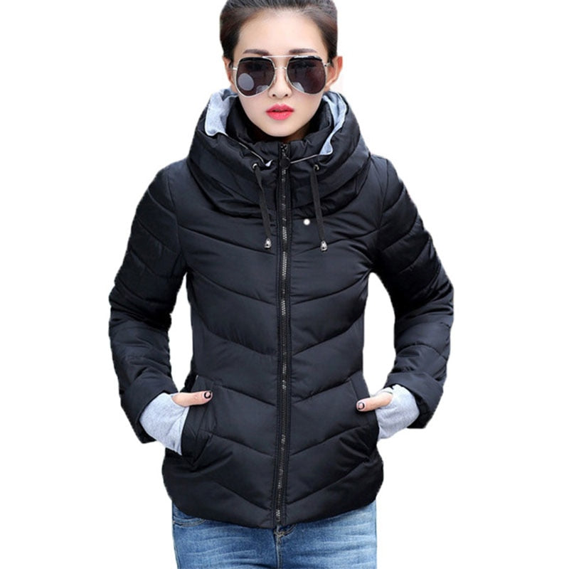 Women Winter Jacket | Warm Parkas Thicken Outerwear - shopaholics