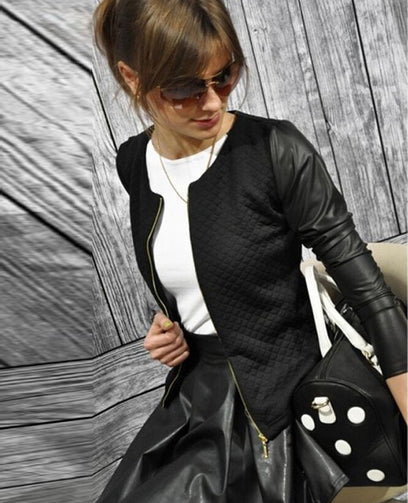 Women Basic Jacket | Punk Style Bandage Jacket - Shopaholics