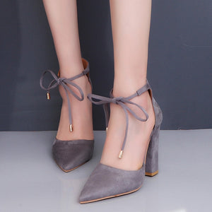 Women Retro Fashion High Heels Pumps - shopaholics