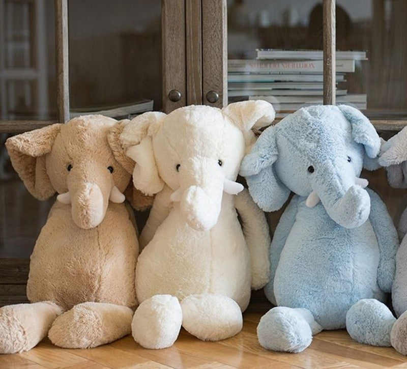 Baby Elephant Plush Stuffed Soft Toys 25-40cm