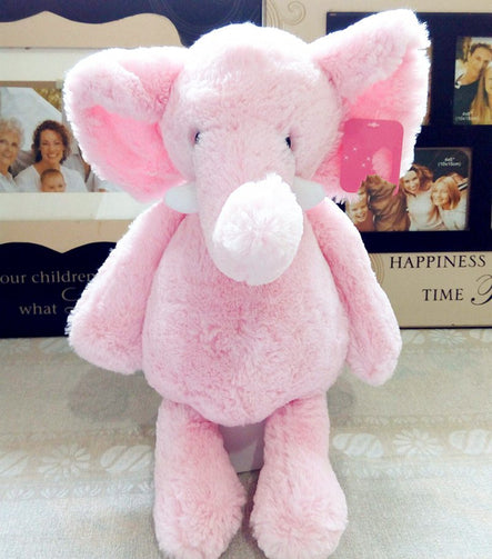 Baby Elephant Plush Stuffed Soft Toys 25-40cm - Shopaholics