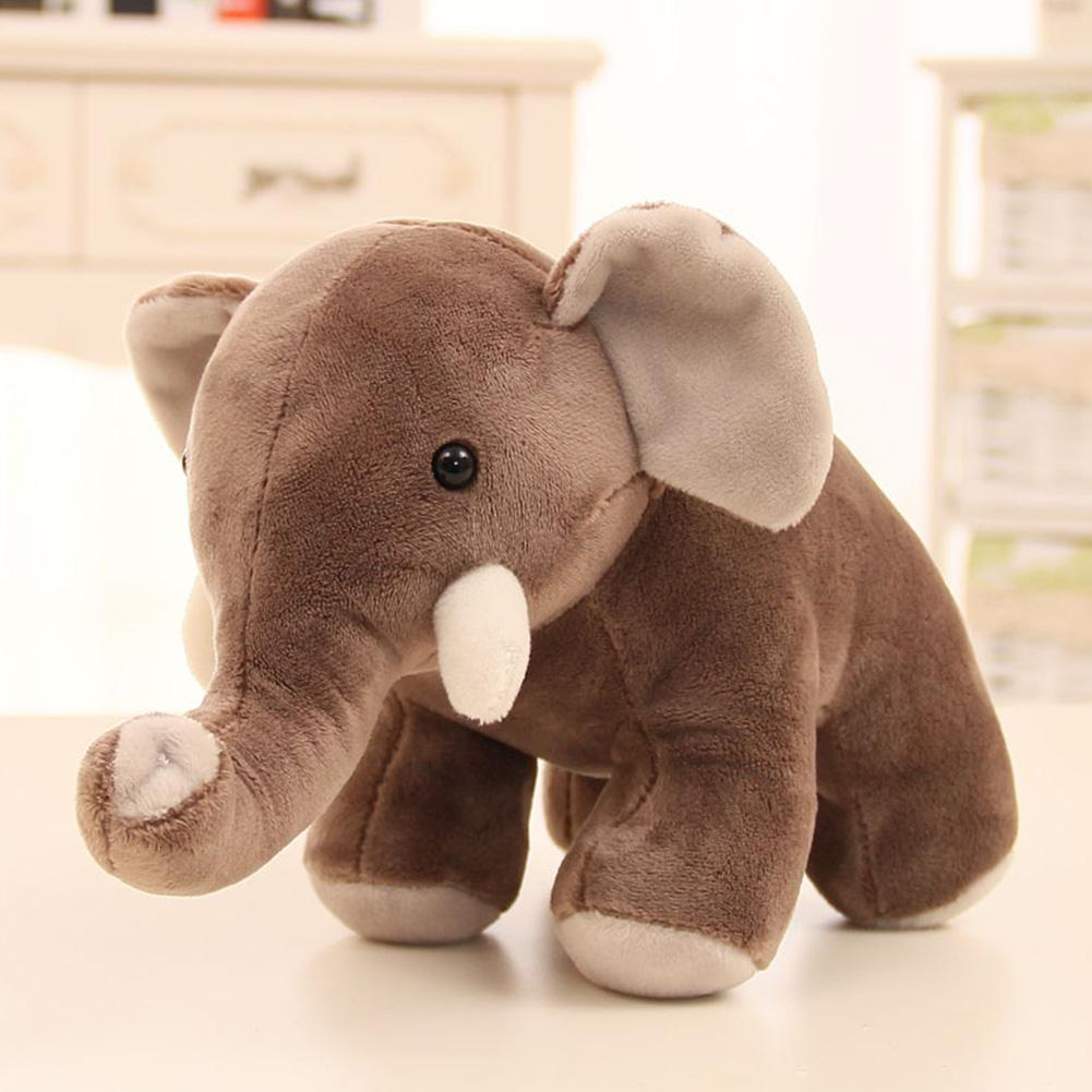 Cute Stuffed Simulation Elephant Soft Toys