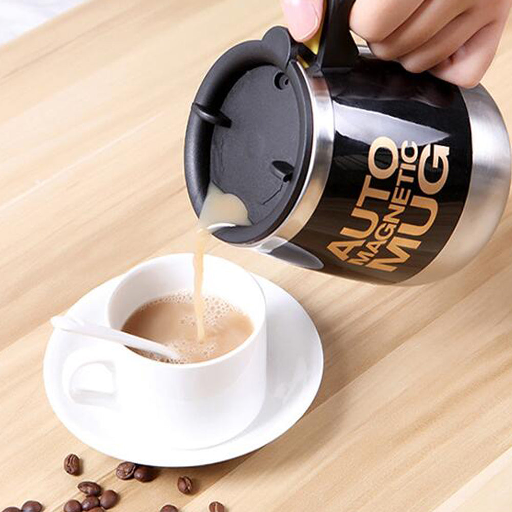 Magnetic Self Stirring Automatic Coffee Mug