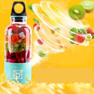 Automatic 500ml Portable Juicer Blender - shopaholics