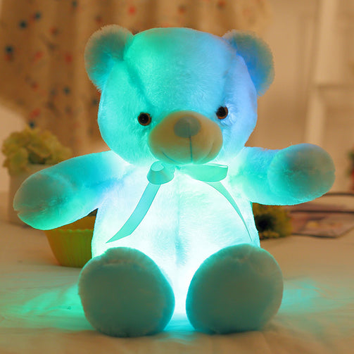 Colourful Luminous LED Teddy Bear Soft Toys - Shopaholics