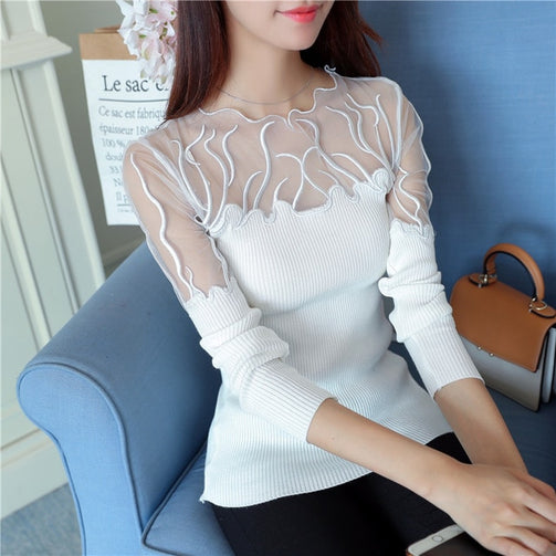 Lace Solid Shrug for Women - Shopaholics