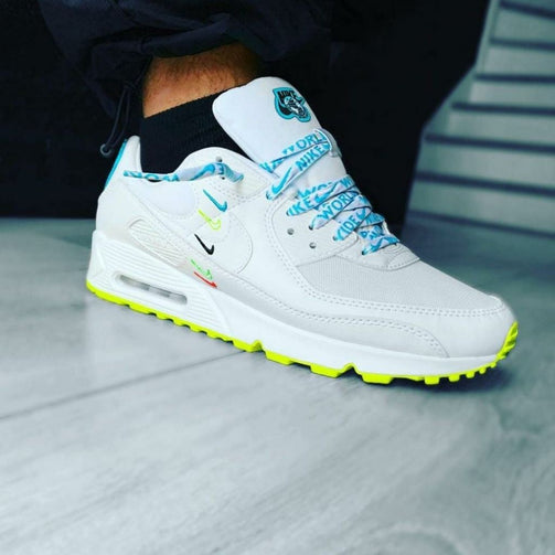 Airmax 90 Worldwide Sneakers Shoes For Men - Shopaholics