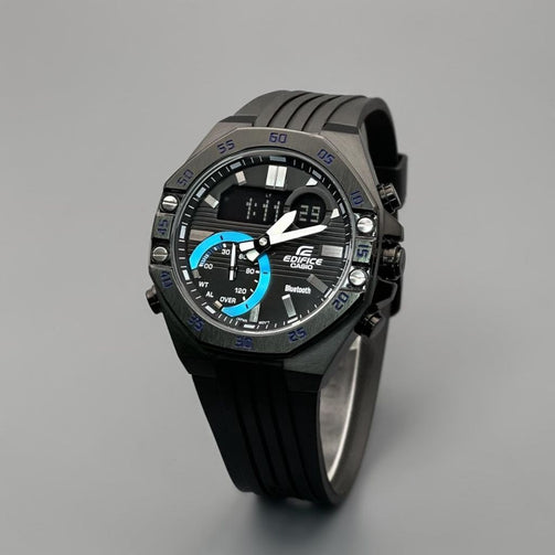 Black Digital Chronograph Wrist Watch For Men - Shopaholics