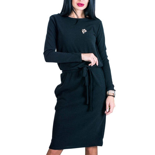 Casual Women Midi Dress - Shopaholics