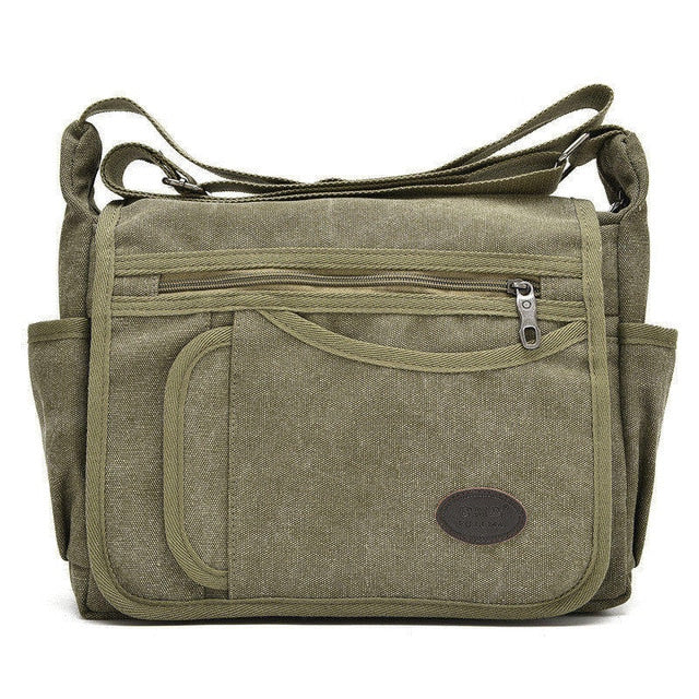8ce378c27f39 Unisex Canvas Shoulder Messenger Bags – Shopaholics