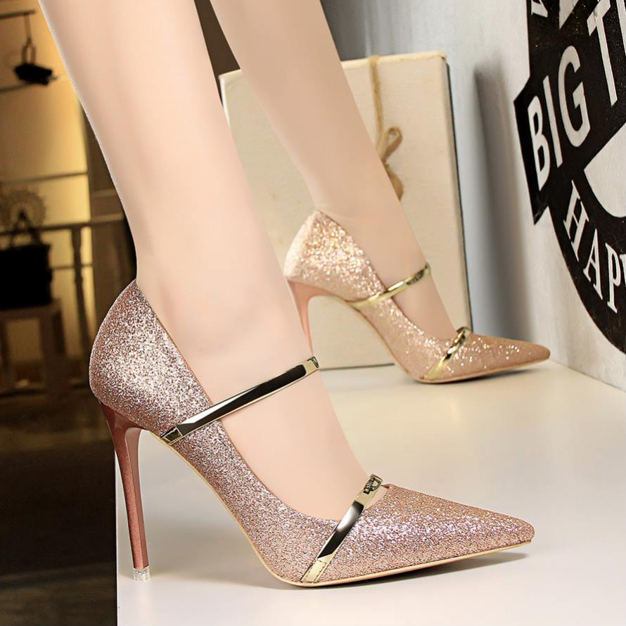 Women Formal Pointed Toe Pumps - shopaholics