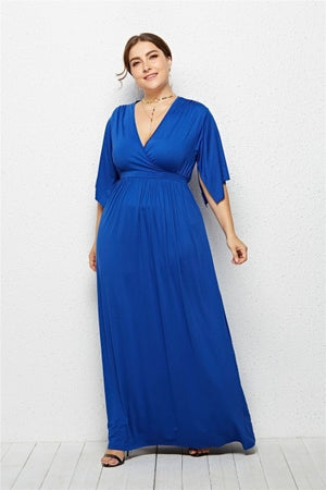 Elegant Plus Size Evening Gown for Women