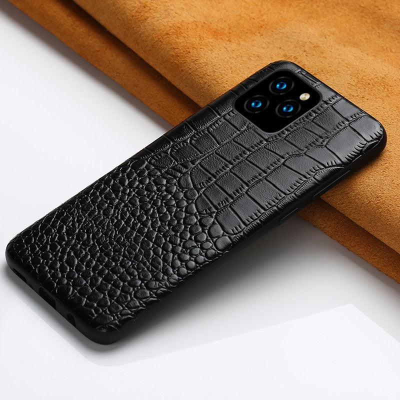 Genuine Leather Case for iPhone