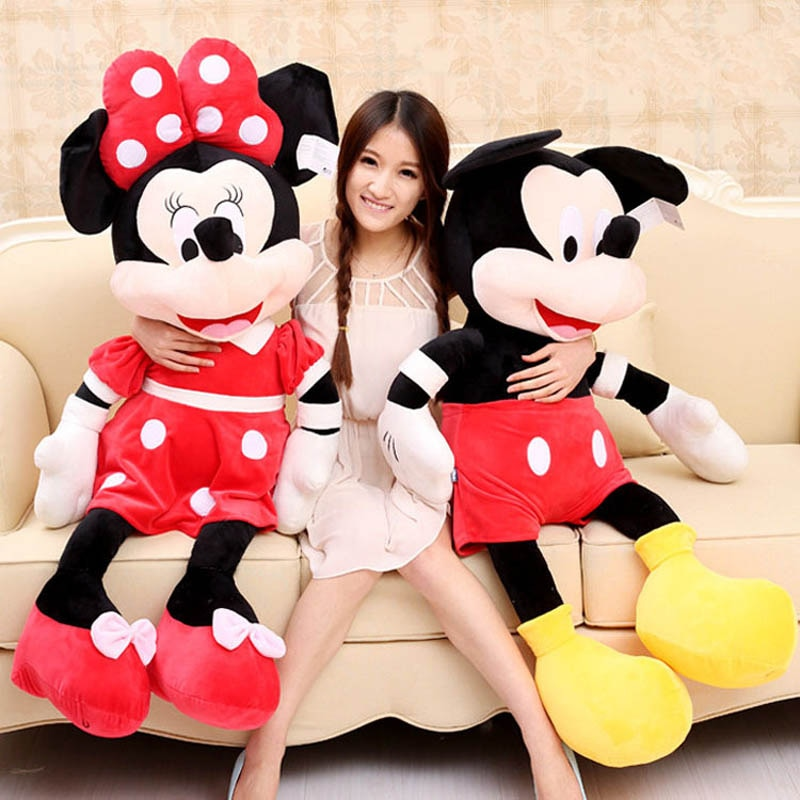 High Quality Stuffed Mickey and Minnie Mouse