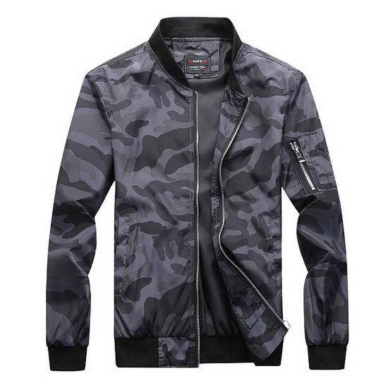 Military Camouflage Jacket for Men