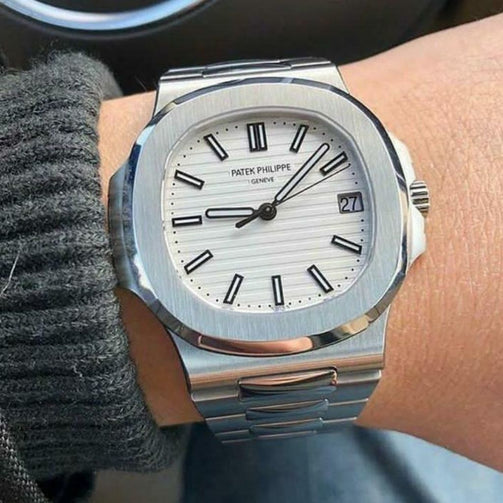 Luxury Solid Design Stainless Steel Wrist Watch For Men - Shopaholics