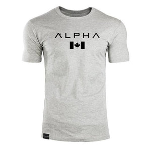 Men Short Sleeves Cotton T-Shirt - shopaholics