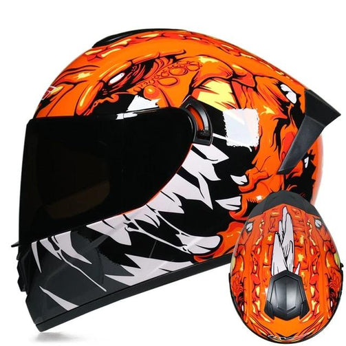 Motorcycle Full Face Designer Helmet - Shopaholics