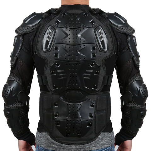 Motorcycle Jacket with Full Body Armour