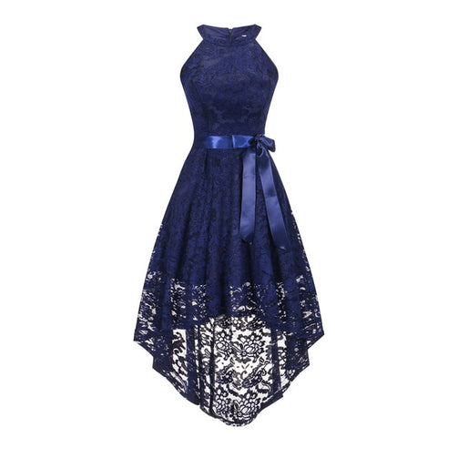 Halter Bow Evening Gown for Women - Shopaholics