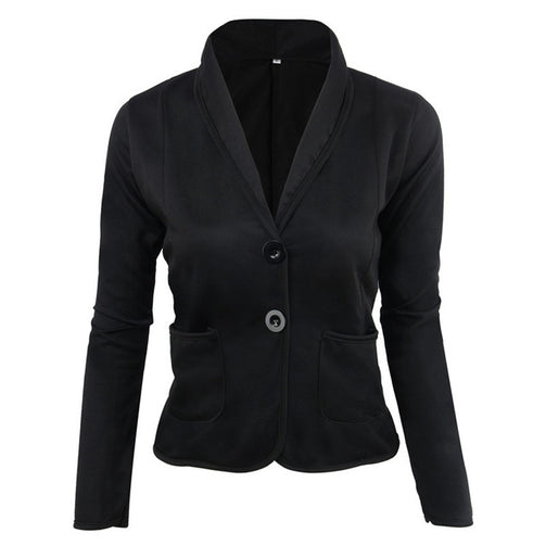 Casual V-Neck Versatile Jacket - Shopaholics