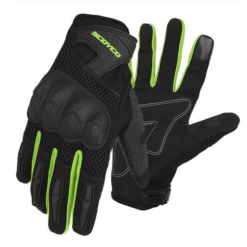 Biking Breathable Mesh Racing Gloves - Shopaholics