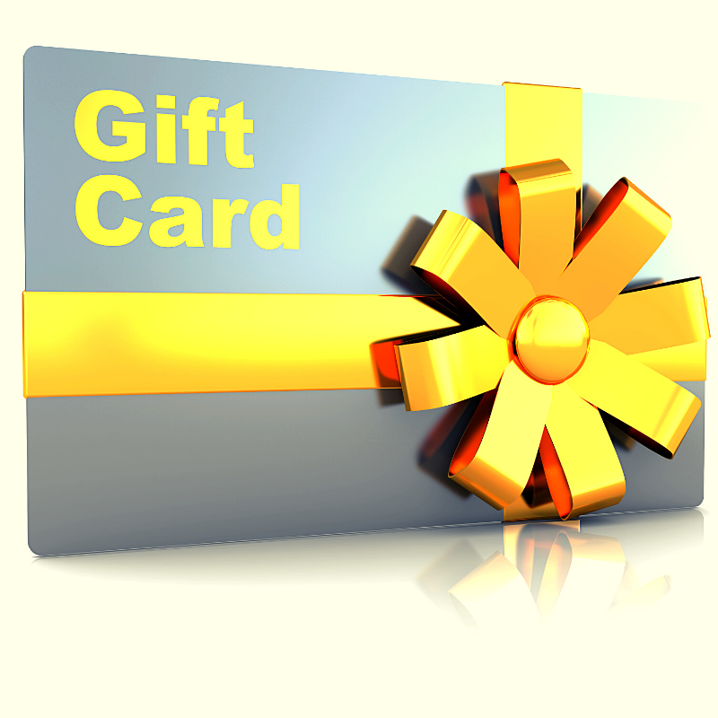 Shopaholics Gift Card