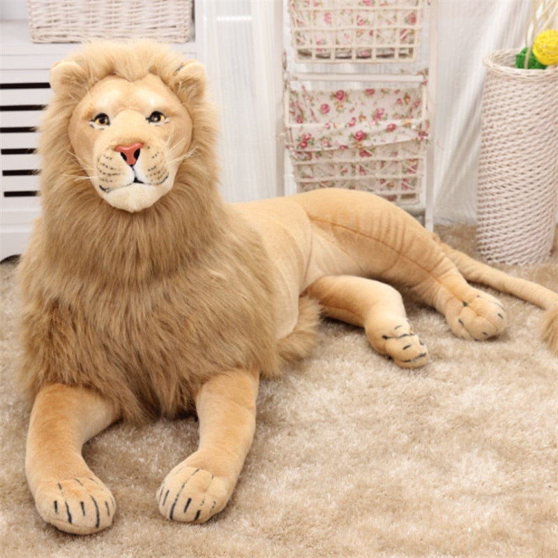 Simulation Stuffed Big Lion Soft Toy