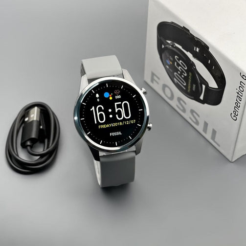 Solid 6th Generation Smart Wrist Watch For Men - Shopaholics