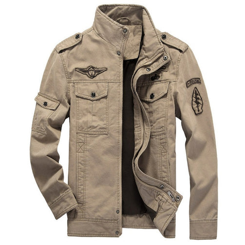 Pilot Bomber Tactical Jacket For Men - Shopaholics