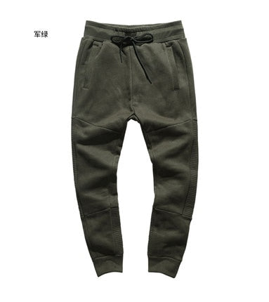Casual Motorcycle Cotton Joggers for Men - Shopaholics