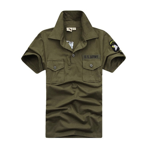 US Army Polo T-Shirt for Men - Shopaholics
