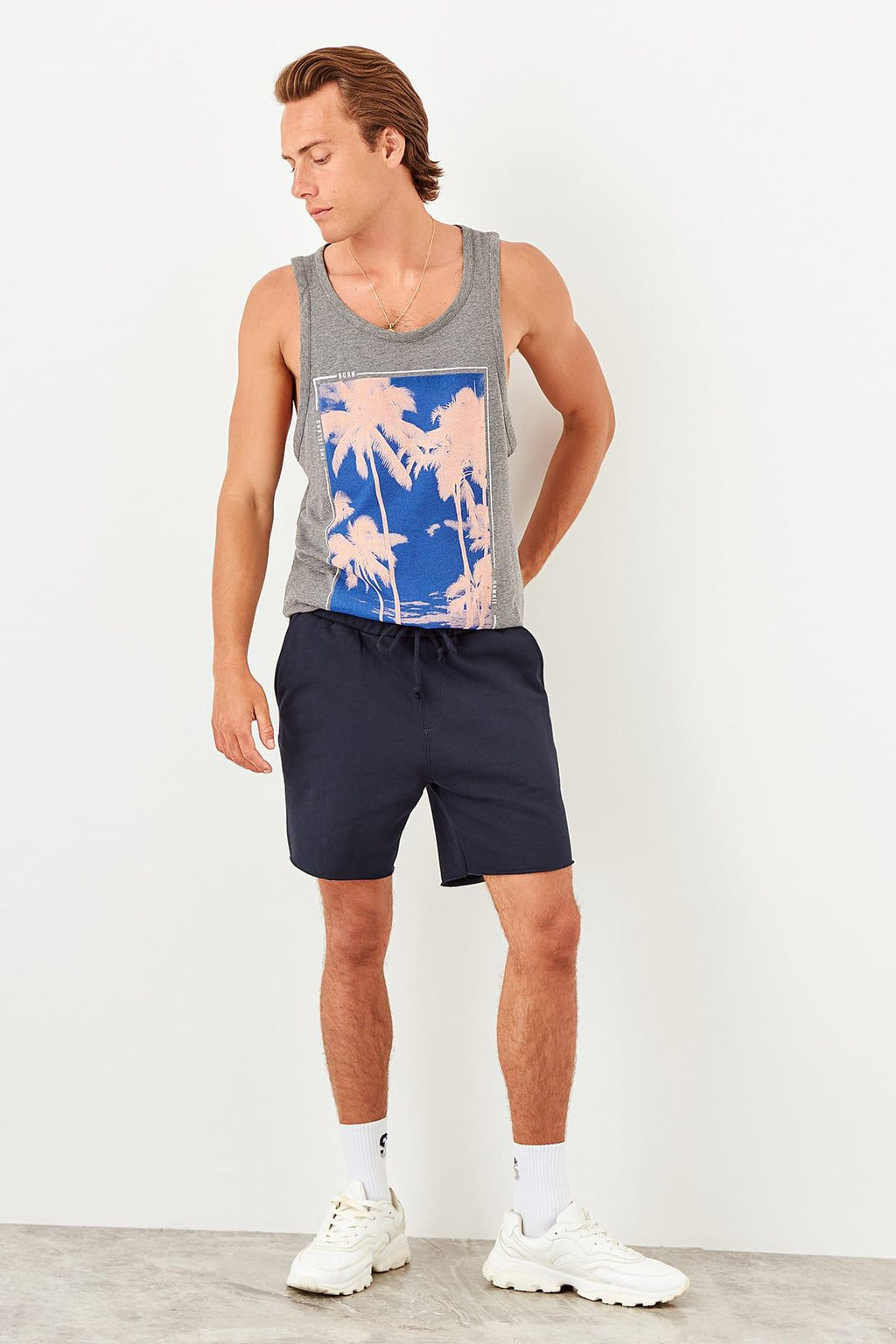 New Navy Blue Shorts for Men - shopaholics