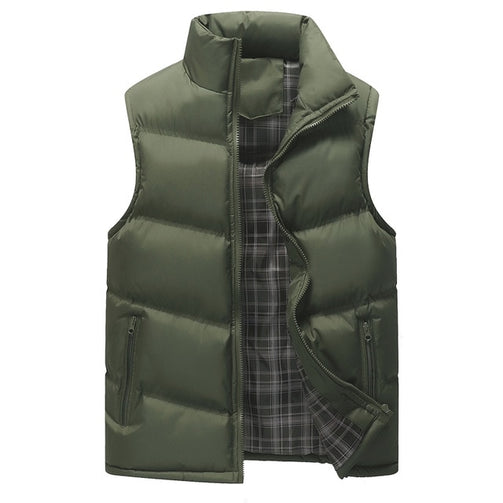 Winter Sleeveless Vest Jacket for Men - Shopaholics