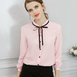 Chiffon Long Sleeve Tops for Office Ladies - Shopaholics