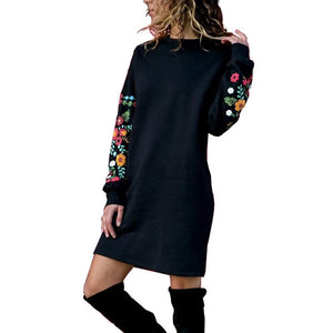 Winter Mini Dress for Women - shopaholics