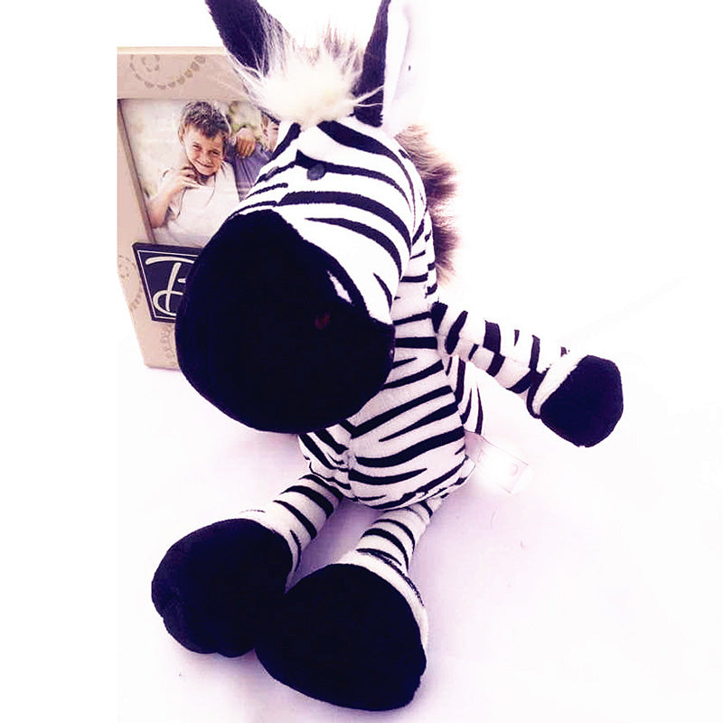 Small Cute Zebra Cartoon Plush Soft Toys
