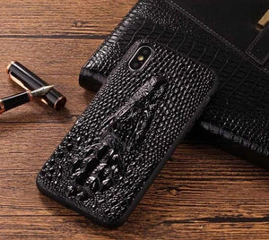 Luxury Crocodile Leather Case for iPhone
