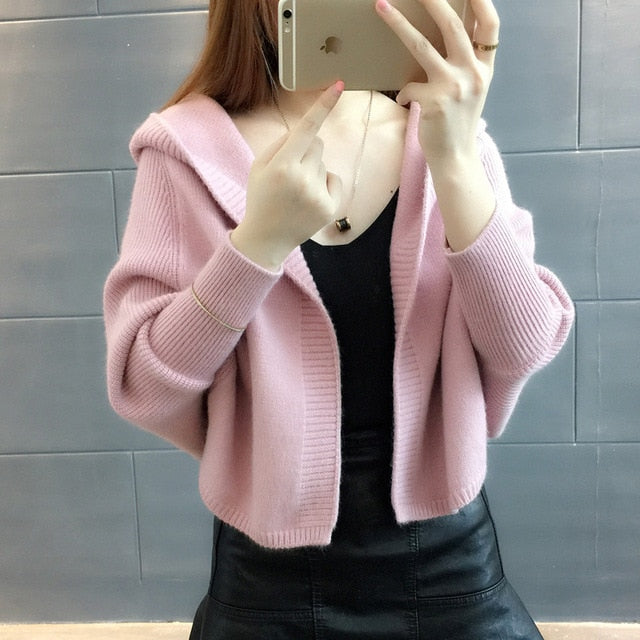 Women Loose Thicken Hooded Jacket - shopaholics