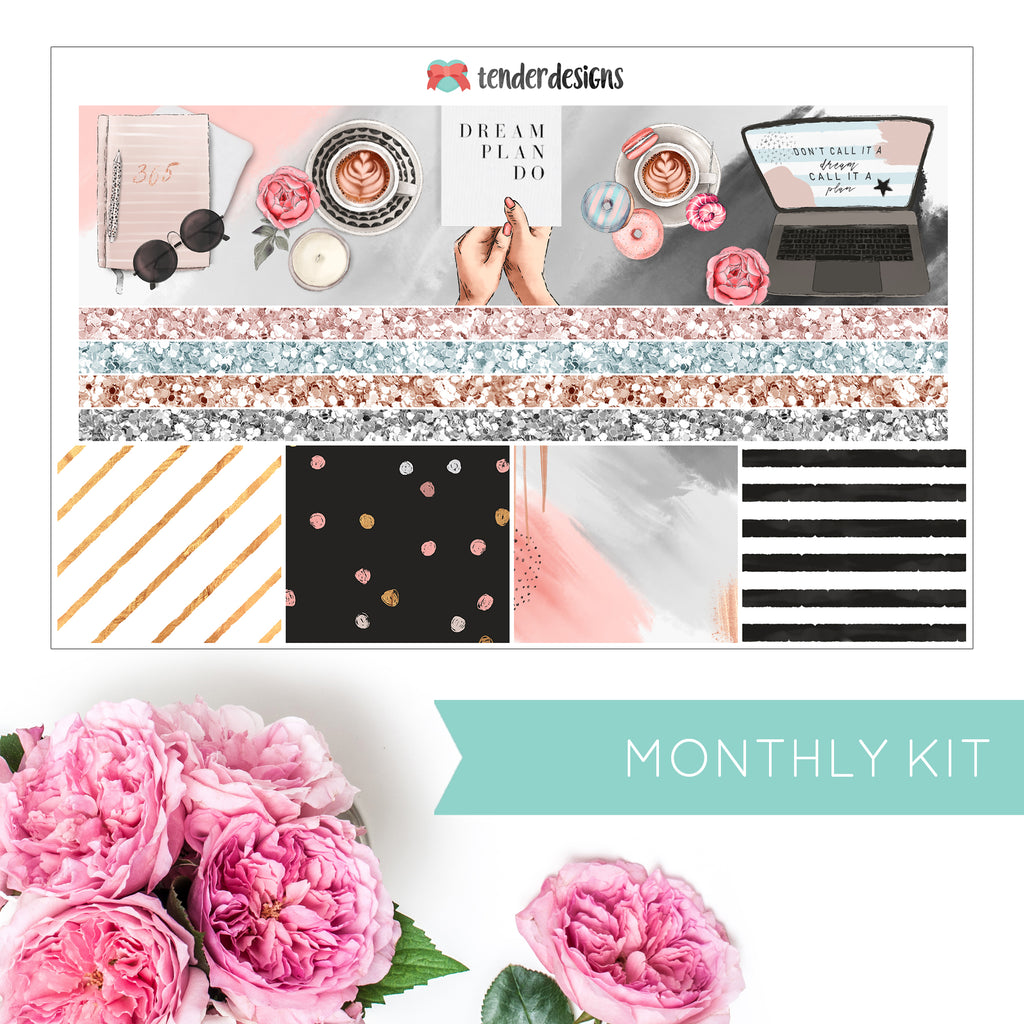 Planner Mania MONTHLY KIT