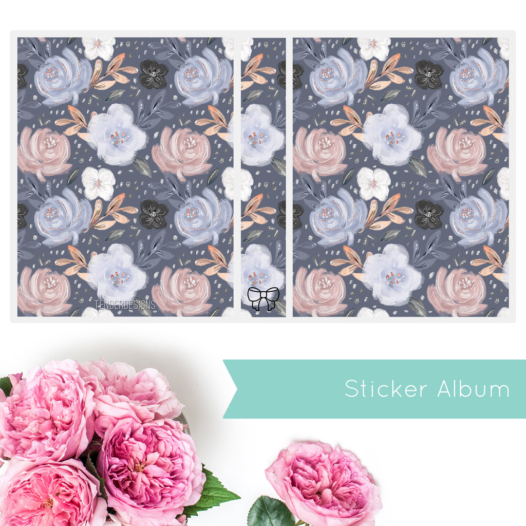 Sticker Album FLORAL